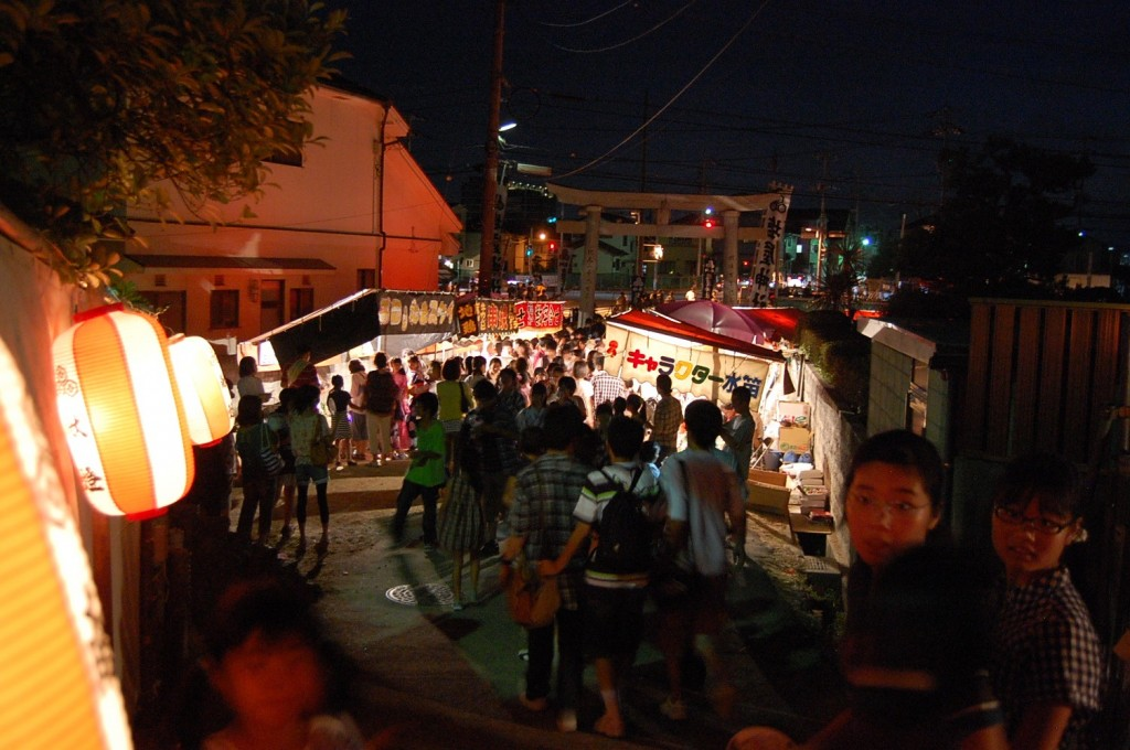 Shioya shrine festival