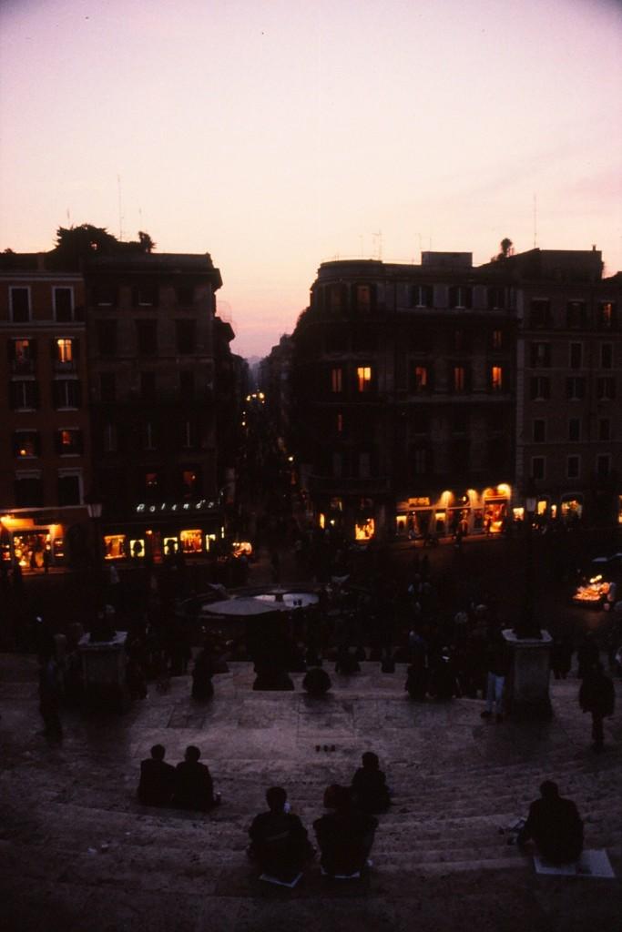 Via Condotti from Piazza Spagna, Rome