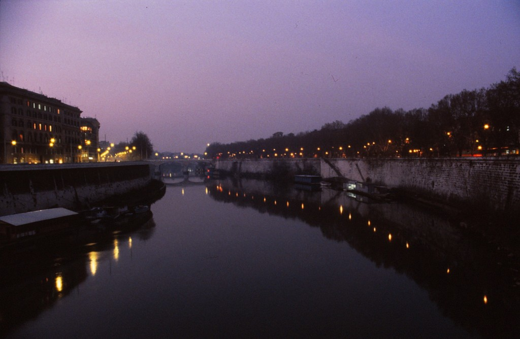 River Tiber from Ponte Cavour