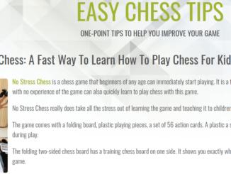 My new Easy Chess Tips blog.