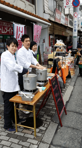 rakurakuen street festival