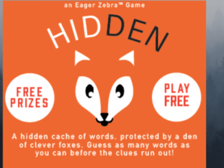 free Hidden word game
