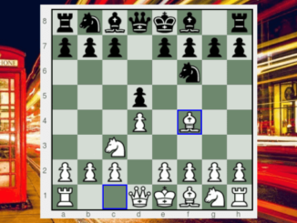 Opening moves of the Jobava London system.